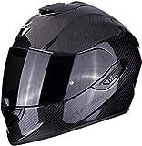 Scorpion casco moto exo-1400 air carbon solid m