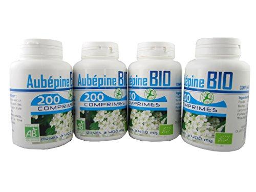 Aubépine Bio AB 4x200 comprimés 400 mg