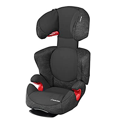 Maxi-Cosi Rodi AirProtect Child Car Seat, Lightweight Highback Booster, 3.5 - 12 Years, 15-36 kg, Nomad Black  I will take action now