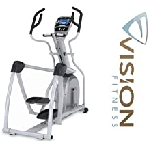 Vision Fitness S7100 HRT Elliptical Fitness Crosstrainer - inkl. Polar Brustgurt und Ft1 Pulsuhr