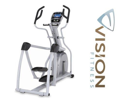 Vision Fitness S7100 HRT Elliptical Fitness Crosstrainer - inkl. Polar Brustgurt und Ft1 Pulsuhr