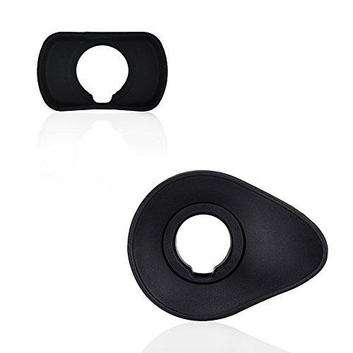 JJC Sucher Augenmuschel für Fujifilm X-T3 X-T1X-T2 X-H1 GFX-50S ersetzt Fuji EC-XT L Okular(2 Stück)