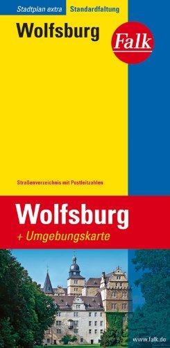 Falk Stadtplan Wolfsburg, Extra Standardfaltung