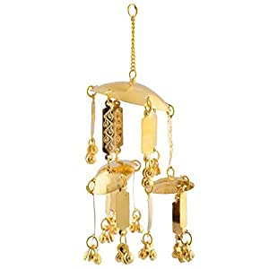 Lucky Jewellery Gold Brass Bridal Kaleera for Women