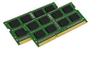 Kingston KTA-MB1600LK2/16G - 16Go Kit (2x8Go) 1600MHz SODIMM 1.35V Mémoire pour Apple iMac Retina 5K 27-pouces (fin 2014) Core i5/i7