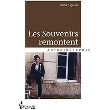 LES SOUVENIRS REMONTENT