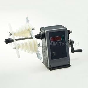 Machine à rembobiner transformateur bobine fil manuel nombre double affichage digital 9907303