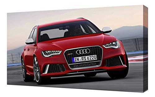 2014-Audi-RS6-Avant-V3-1080 - Stampa Artistica su Tela - Stampa Tela Canvas