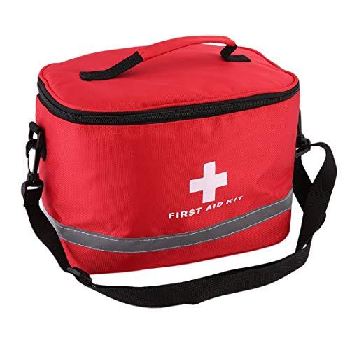 Simbolo di croce rossa in nylon ad alta densità Ripstop ad alta densità Sport Campeggio Casa emergenza medica di sopravvivenza kit di primo soccorso borsa all\'aperto
