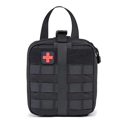 G-wukeerMedizinische Erste-Hilfe-Aufbewahrungstasche - Outdoor Medical Package Erste-Hilfe-Set für Erste-Hilfe-Koffer, Bergsteiger-Rettungsgerätepaket.