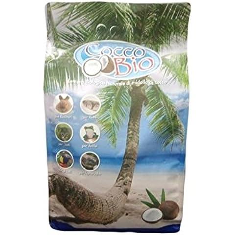 Desechos de coco Bio 10 lt-yacija ecológica de médula de coco natural