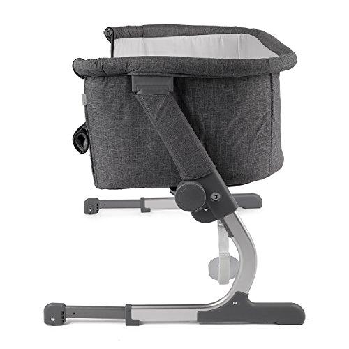 Kinderkraft UNO 2in1 Beistellbett mit Matratze Babybett Kinder Baby Reisebett mit Aluminium-Rahmen