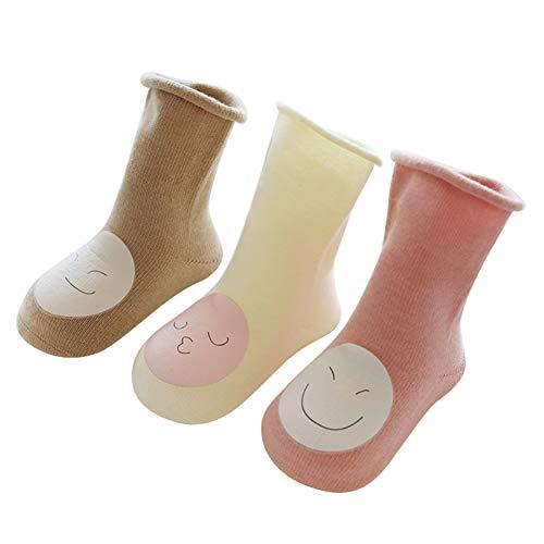 ZHONGYU Baby Mädchen (0-24 Monate) Socken #02 Large
