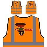 Oferta Cerveza Señora Oferta Chaqueta de seguridad naranja personalizado de alta visibilidad q422vo