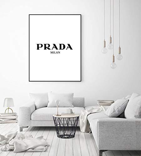 Texas Dekor (Prada Druck, Prada Poster, Prada Marfa, Prada Store Poster, Mode Poster, Prada Texas Druck, Mode-Dekor, Home Decor Kunst schwarz und weiß)