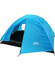 Outdoor-Camping-Zelt Outdoor-Zelt mit 2 Personen paar wilde doppelte Koje regen Zelt Zelt Familie mit dem Auto unterwegs