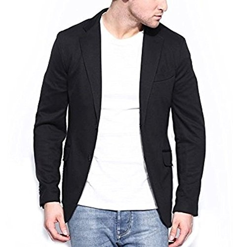 MENJESTIC Men's Slim Fit Blazer (34)  available at amazon for Rs.1800