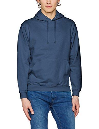 AWDis Herren Kapuzenpullover College Hoodie, Weiß, Small Blau (Air Force Blue)