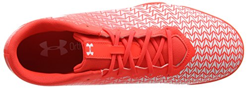 Under Armour Ua Cf Force 3.0 In, Chaussures de Football Homme Rouge (Neon Coral 611)
