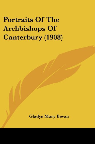 Portraits of the Archbishops of Canterbury (1908)