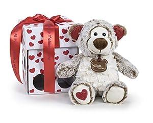 Famosa Softies - Oso de peluche Happy Valentine de 32cm con caja de regalo (Famosa 760017470)