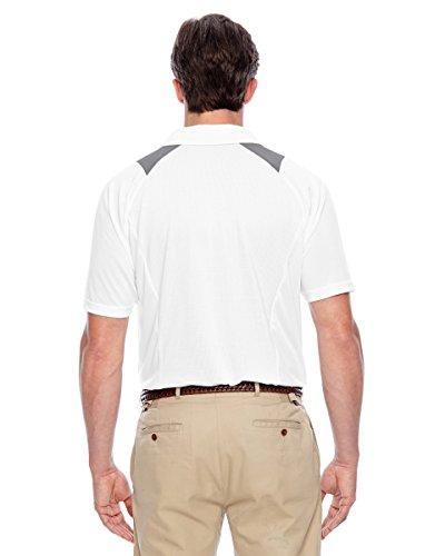 Team 365TT24Herren Innovator Performance Polo Shirt Weiß