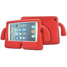 Para iPad 2/3/4 Case, para iPad 2/3/4 Funda, niños de alta calidad a prueba de golpes a prueba de golpes con función de atril funda de espuma EVA
