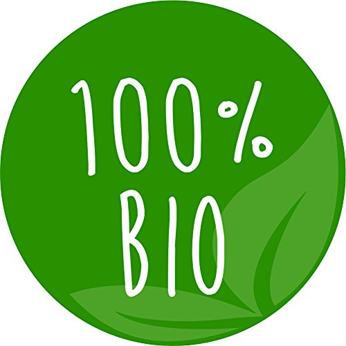 """Preisvergleich Produktbild Hinweisaufkleber """"100 Prozent Bio,  40 Stück"""",  hin_229,  Ø 3cm,  40 Aufkleber auf DIN A4-Bogen,  Aufkleber,  Hinweis,  Produkt,  100 %,  Bio"""