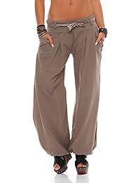 ZARMEXX dames bloomers pantalon d été sarouel pantalon en coton ... db51291f783