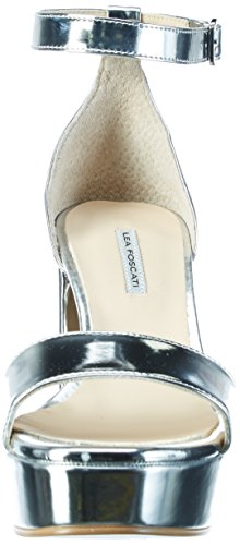 Lea Foscati Andalusia, Sandales Bout Ouvert Femme Silber (Argento)