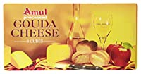 Amul Gouda Cheese Cubes - Processed, 200g