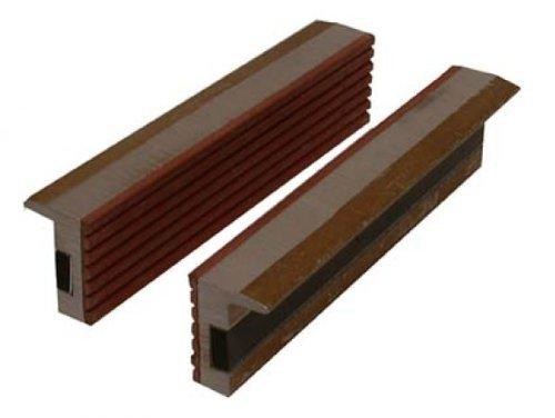 Preisvergleich Produktbild BGS Schraubstock-Schutzbacken, Aluminium, 2-teilig, Breite 125 mm, 3044