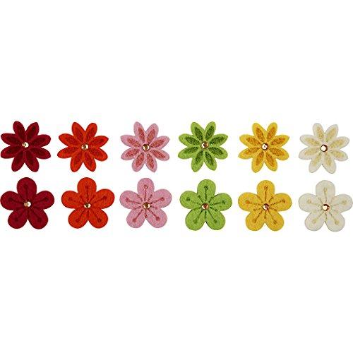 Creativ Company - Set da 12 fiori