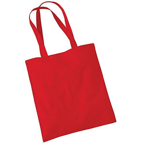 Borsa da donna Westford Mill in cotone con tracolla Rosso (Classic red)