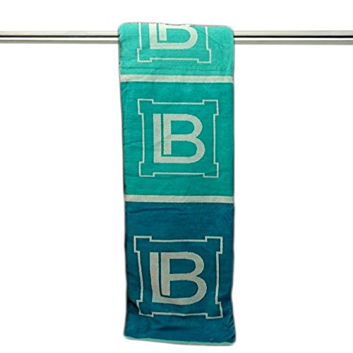By perlarara - telo mare piscina laura biagiotti home 100% spugna cotone cinigliata colorati (logo verde new)