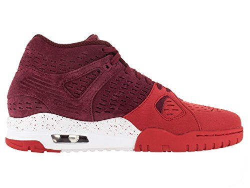 Nike Air Trainer 3 LE Cuir Baskets Tm Red-Tm Red-Unvrsty Rd-White