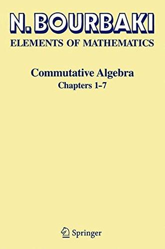Commutative Algebra: Chapters 1-7