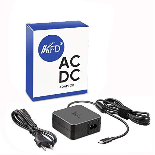 KFD 65W Type C Cargador USB Tipo C USB C Adaptador