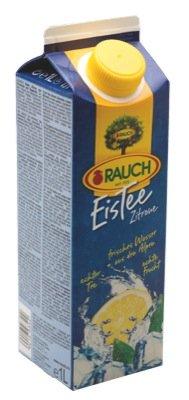 Rauch Eistee 1l, Zitrone - 6 x 1l