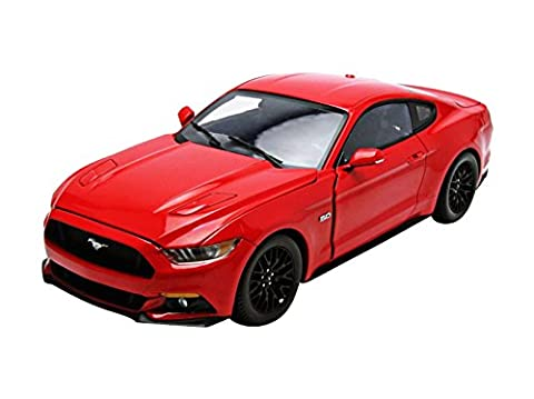 2015 Ford Mustang GT 1:18 Auto World Ertl AW221 rot