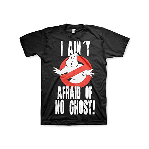 Licensed  I Ain´t Afraid Of No Ghost T-Shirt