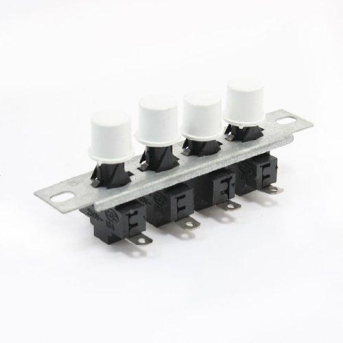 Sourcingmap - Radiatore elettrico 250vac 10a 4 modi on / off aggancio interruttore a pulsante