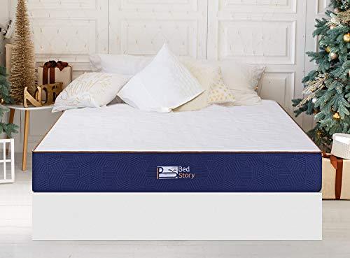 BedStory Matelas 140x190 à Mémoire de Forme, 2,5cm de...