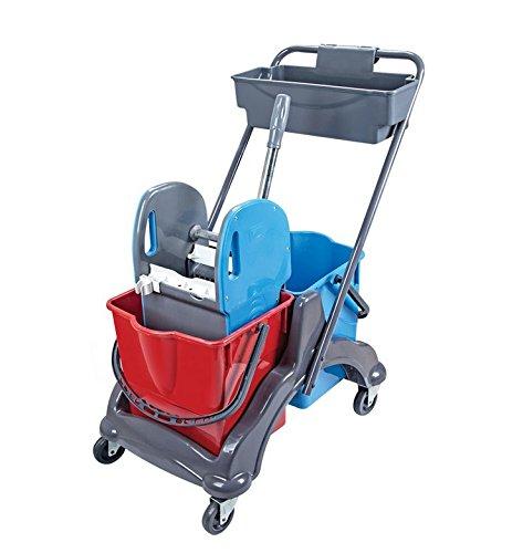 Aviva clean av71di pulizia/doppia guida di/wisch carrello