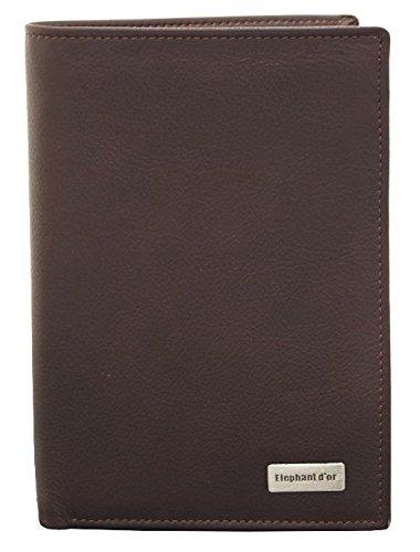 Portefeuille design Portefeuille homme cuir marron N1335 Cadeau homme