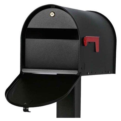 """Original US-Mailbox Mailsafe II, abschließbar, Stahlblech """"Made in USA"""", schwarz - US Mailbox"""