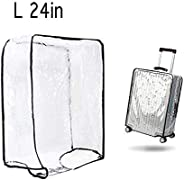 1PCS Luggage Cover Suitcase Cover Transparent Protectors Case for 20