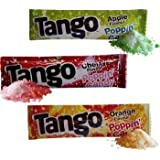 Pack Of 40 Tango Popping Candy Trois Saveurs, Pomme Orange Et cerise