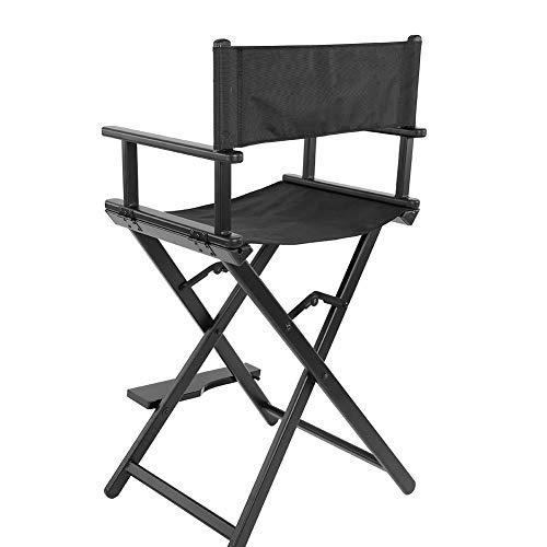 Hongzer Director Chairs Klappbarer, professioneller Klapp-Make-up-Stuhl aus
