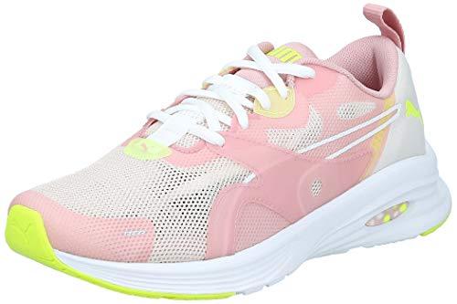 PUMA Hybrid Fuego Shift Wns, Zapatillas de Running para Mujer, Pastel Parchment-Bridal Rose, 37 EU